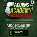 Little Oakley Football Academy To Host Follow Up Session