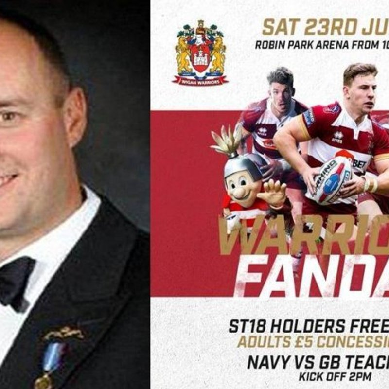 "Teachers to play Navy for the inaugural ""Ian Molyneaux challenge plate"""