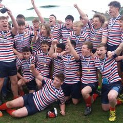 U16s Cheshire Champions
