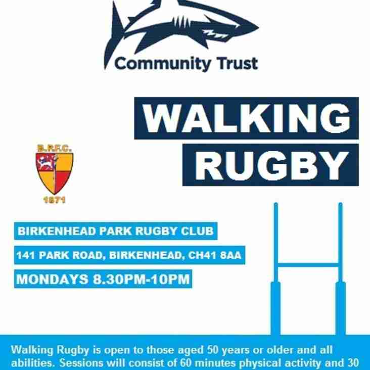 Over 50s Walking Rugby.