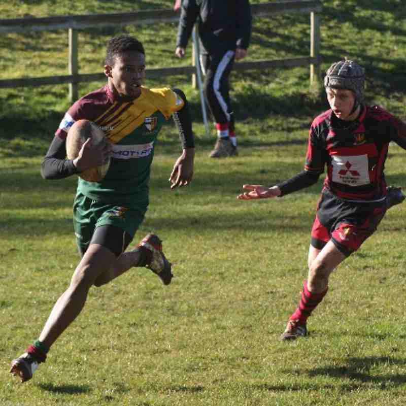 OB's Cup win v Cirencester 16/2/14