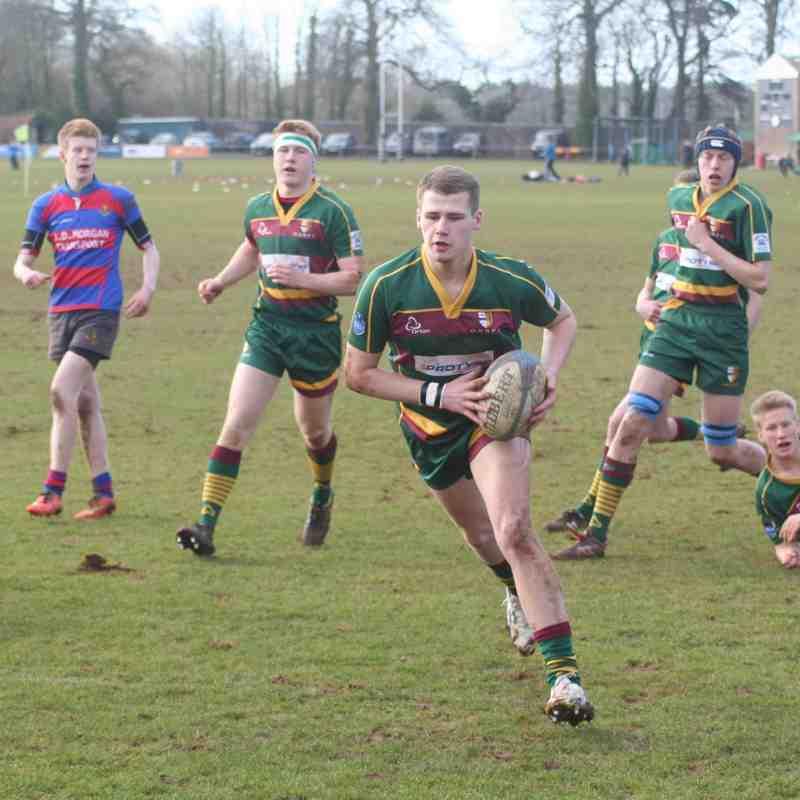 U16s Glos Cup Quarter v North Bristol