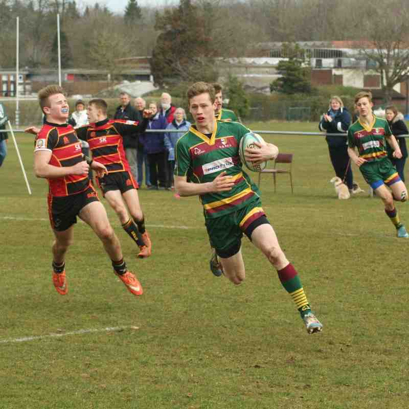 U16s Glos Cup Semi v Cinderford