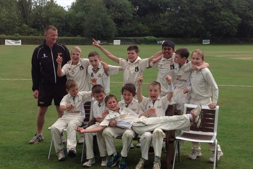 Astwood Bank CC - Under 12 260/3 - 266/5 Earlswood CC - Under 12s