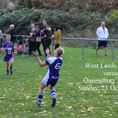 West Leeds V Queensbury - 21 October 2018