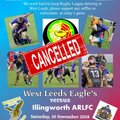 Saturday's cup-tie against Illingworth cancelled