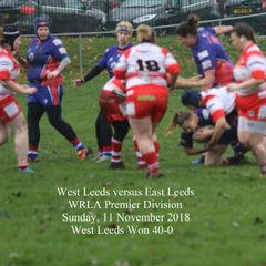 West Leeds v East Leeds - 11 November 2018