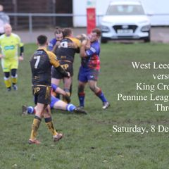 West Leeds vs King Cross - 8 December 2018 (Pennine League)