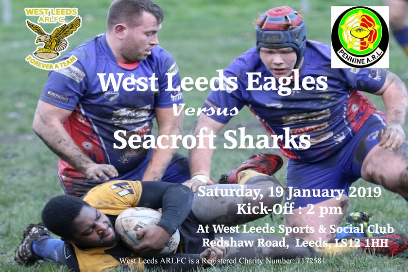 West Leeds Men welcome the Sharks to HQ