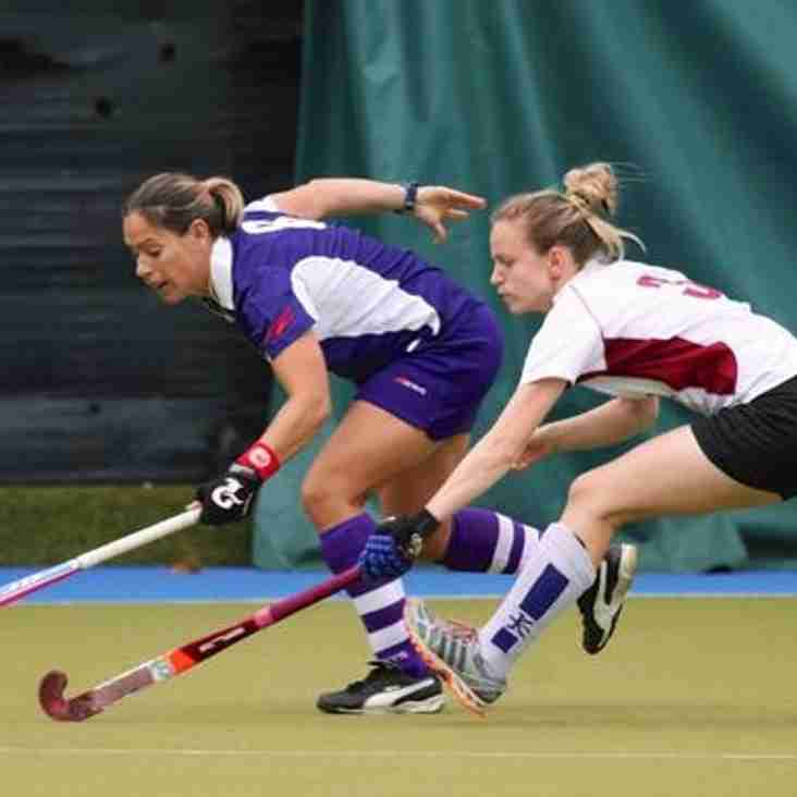 Final national league game before Christmas for Ladies 1's