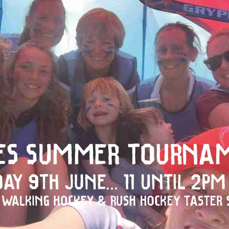 Walking Hockey & Back to Hockey added to the program for the BHC Ladies Summer Tournament