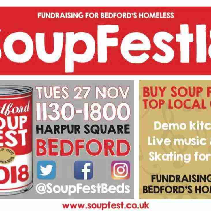 Soupfest 2018 - Could you help Bedford's homeless?