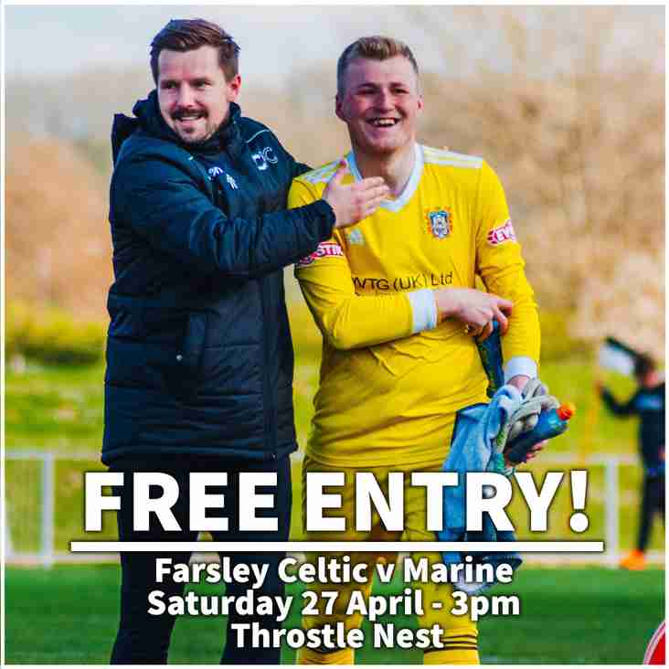 Preview: Farsley Celtic vs Marine (27/04/2019)