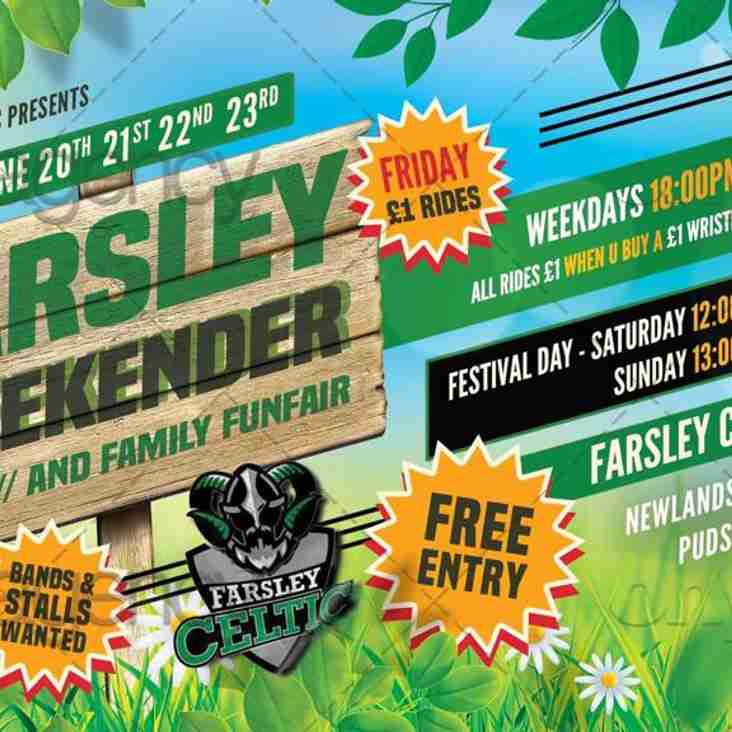 Farsley Weekender for All the Family