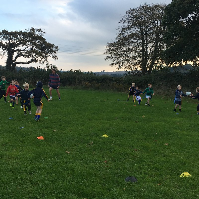 Great training session for U7s