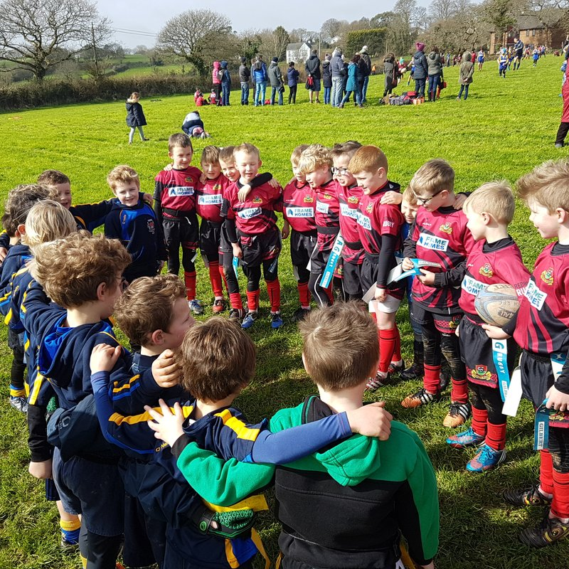 Great rugby from u7s