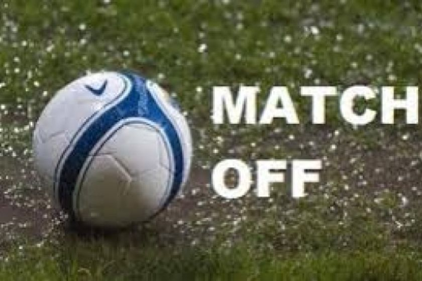 Home game to Chipstead is now off