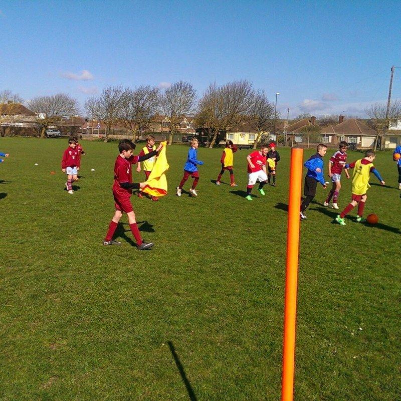 Easter School Holidays Soccer School