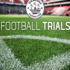 League Champions Shoreham FC U18s Trials for 2016-2017 Season