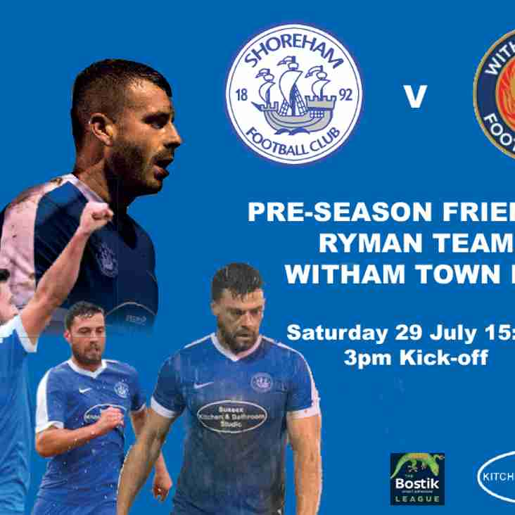 Pre-Season Friendly 29 July