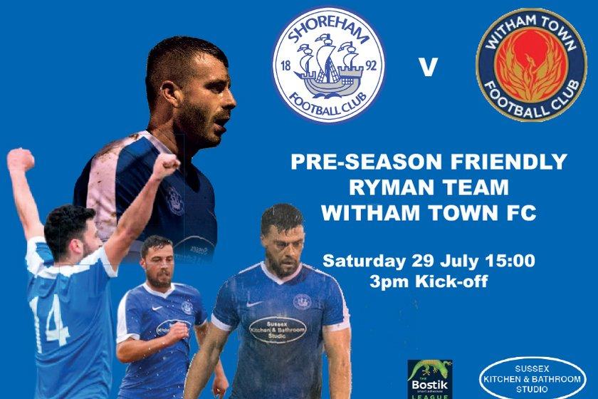 Pre-Season Friendly 29 July