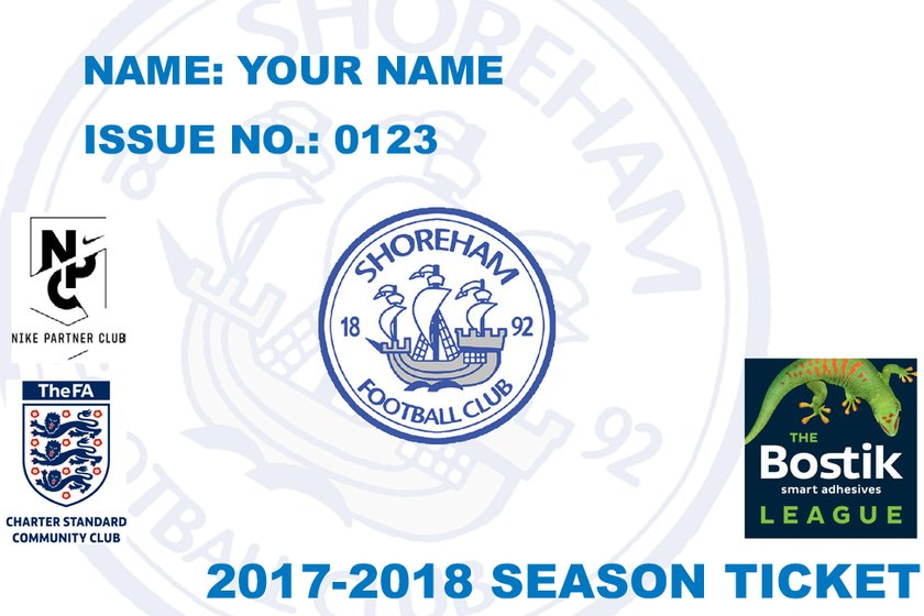 Season tickets are now available