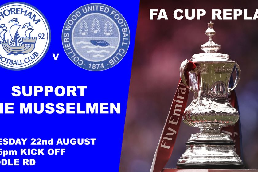 FA Cup Replay at home to Colliers Wood