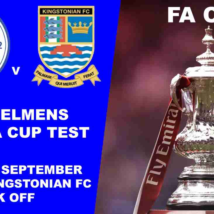 Shoreham unlucky in FA Cup to Kingstonian FC