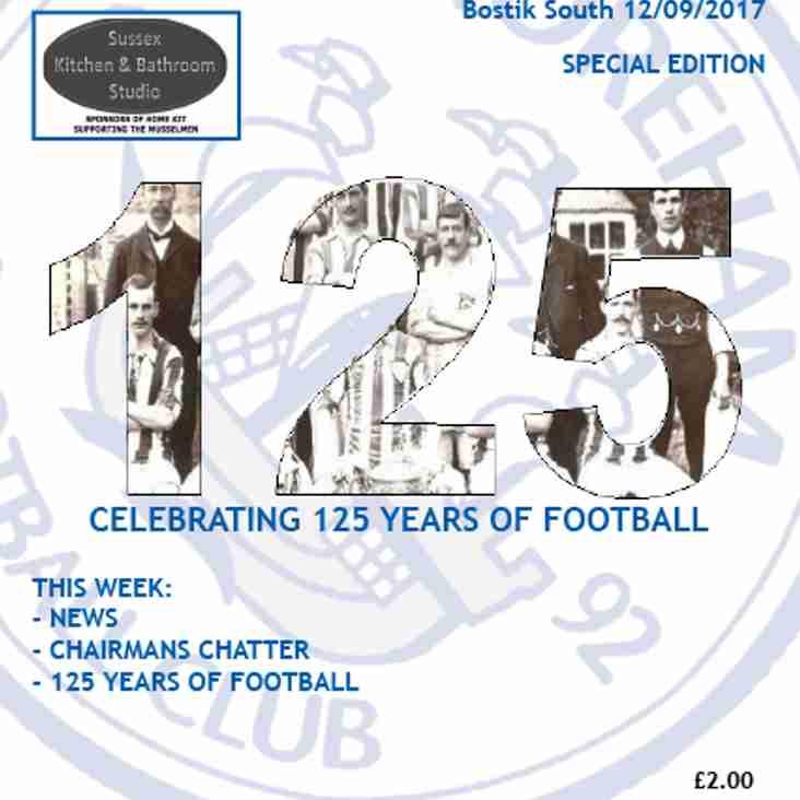 Shoreham Celebrate 125 Years of Football