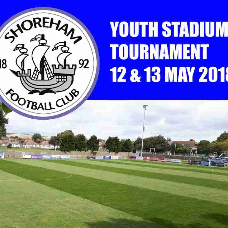 Youth Tournament May 12-13 2018-Now closed for entries