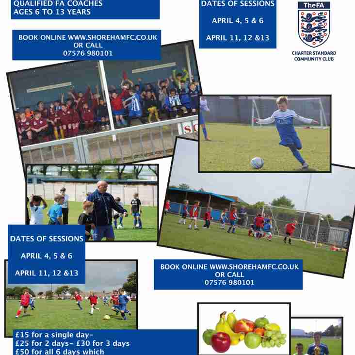 Easter Soccer School Sessions