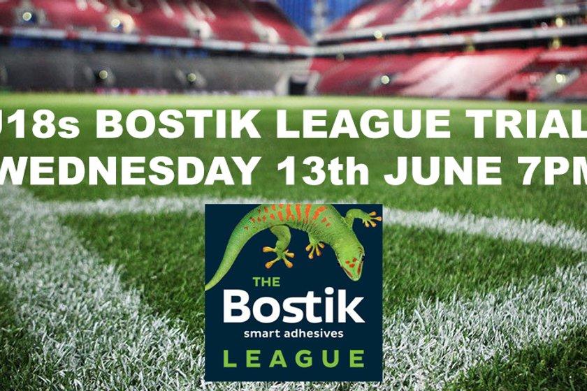 Shoreham FC U18s Bostik League Trials- Date now set!