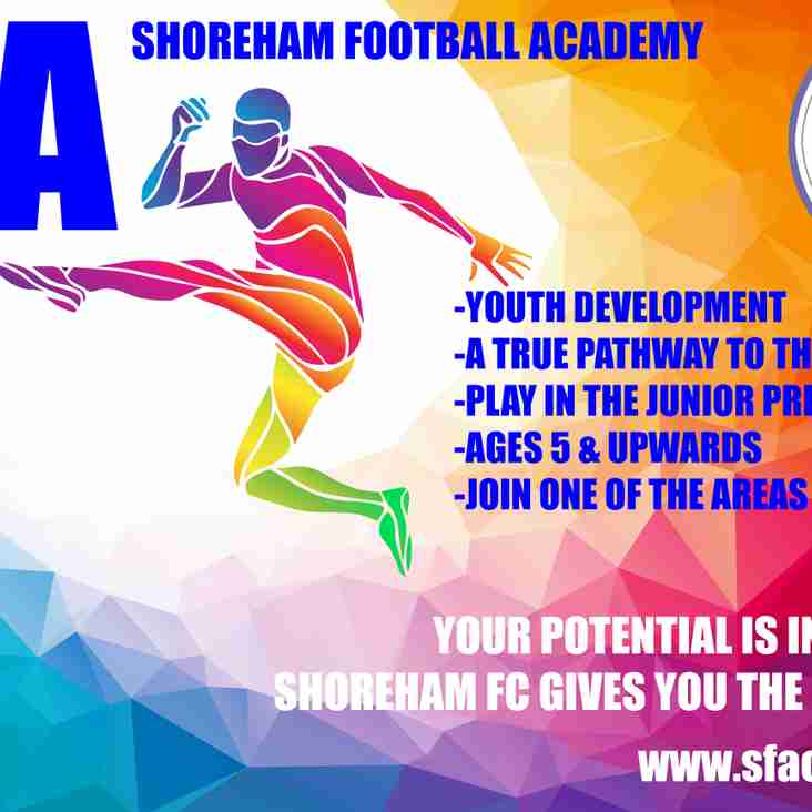 Shoreham Football Academy Trials