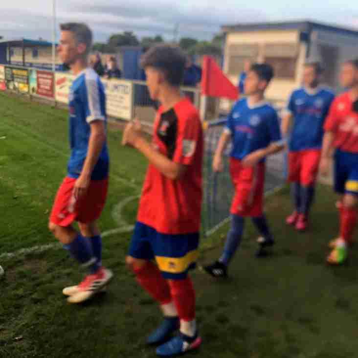 Shoreham youth players debut in Bostik league