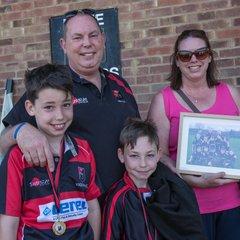 Junior Rugby awards 6.5.18