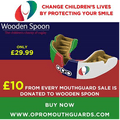 Wooden Spoon mouthguard