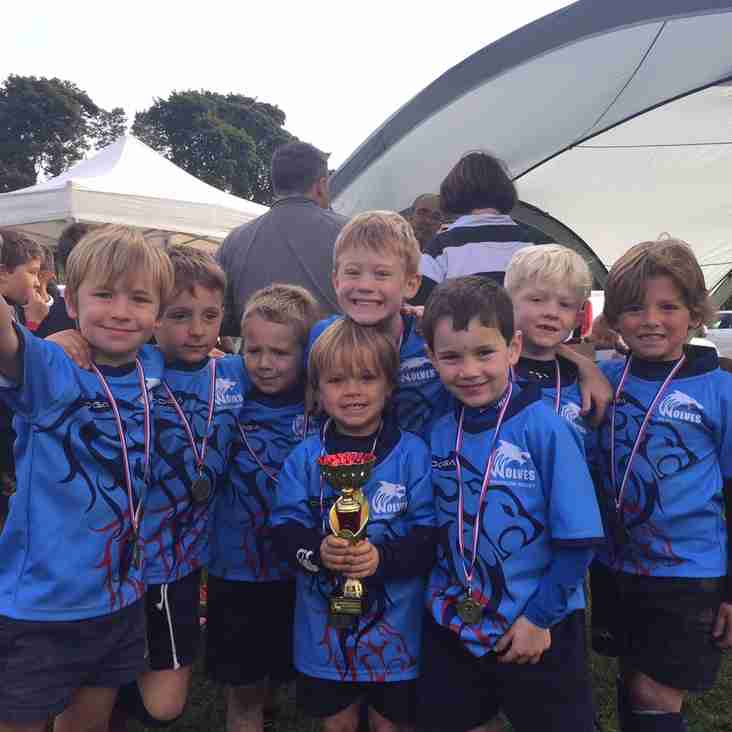 Wilmslow win the cup at Rossendale festival