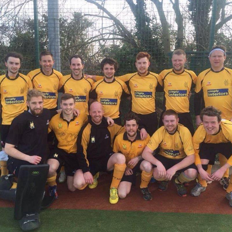 Mens 1st XI lose to Cambridge Nomads 1 3 - 1