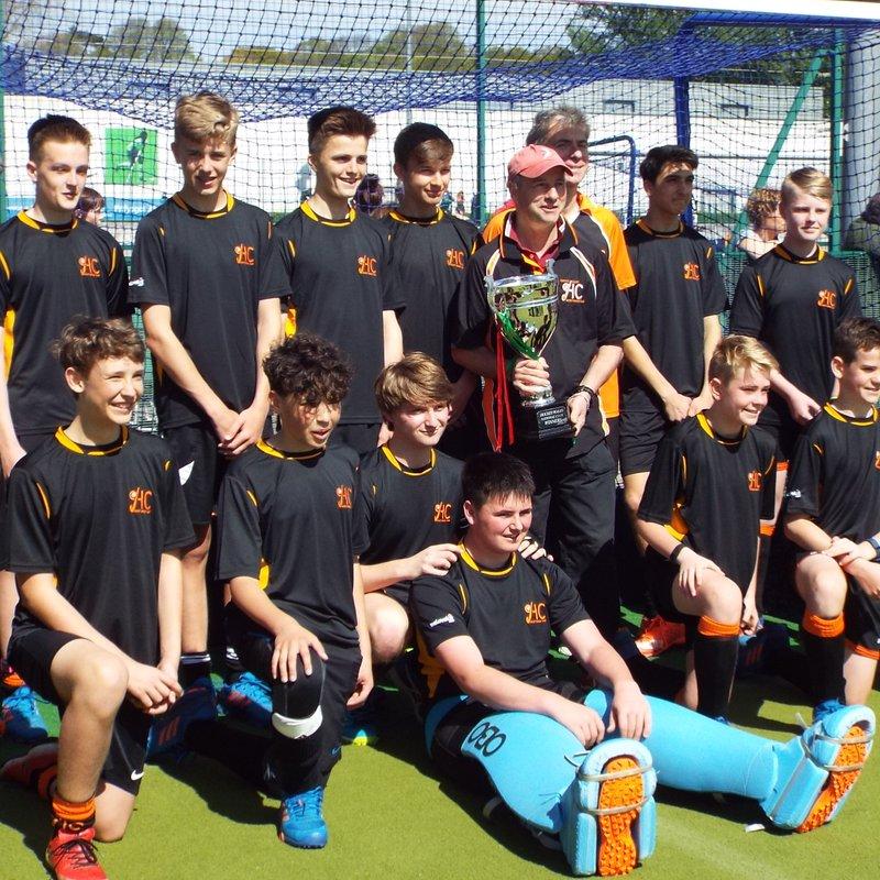 U15 Boys South Wales Cup WINNERS!!!!!