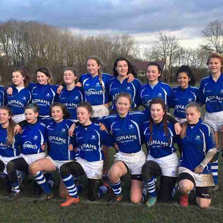 Diss Vixens U15s v Barkers Butts
