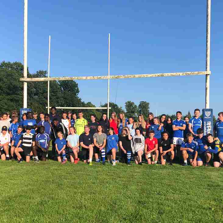 Summer touch kicks off