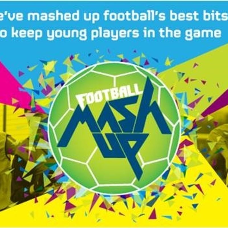 Football Mash up Free Startin 14th April for all under 12's Players