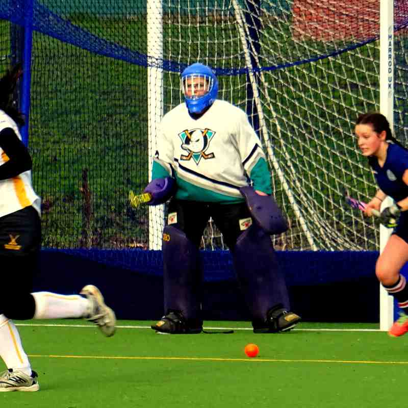 Droitwich Spa Hockey Club Ladies 2s vs Tenbury January 14 2017