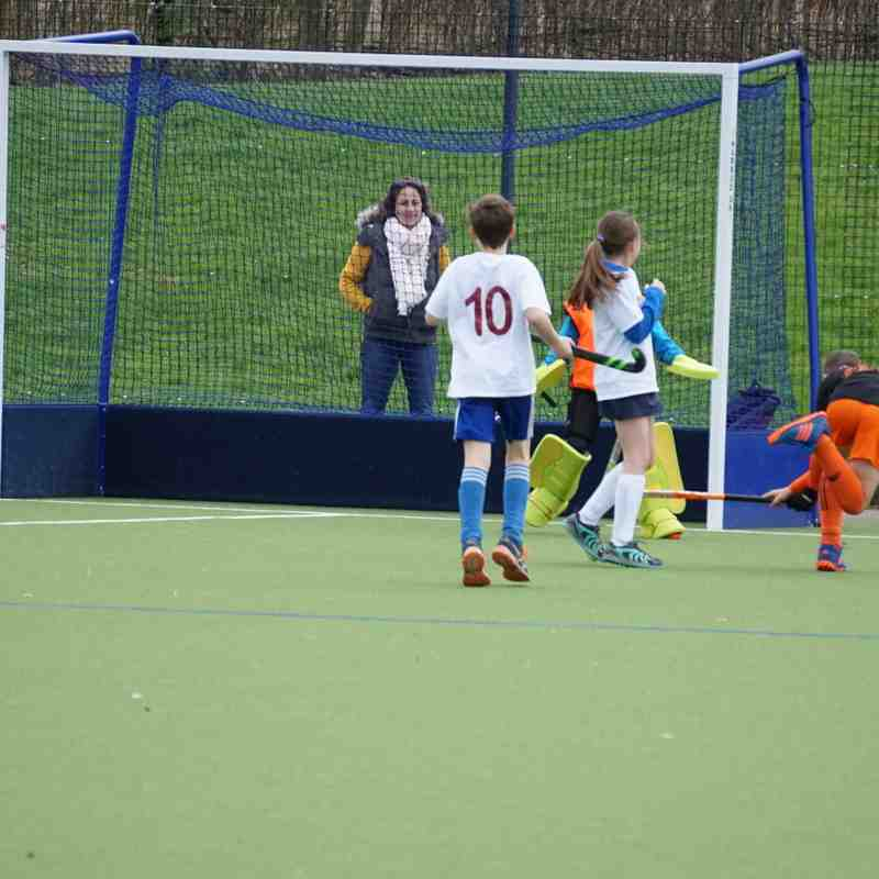 Droitwich Spa Hockey Worcestershire Tournament U11s Finals Day April 2017