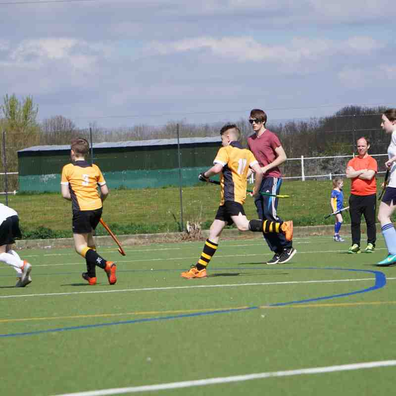 Worcestershire Finals Day U13s April 2017
