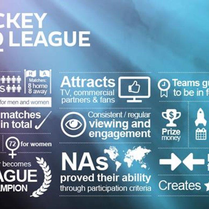 Creation of new Hockey Pro League