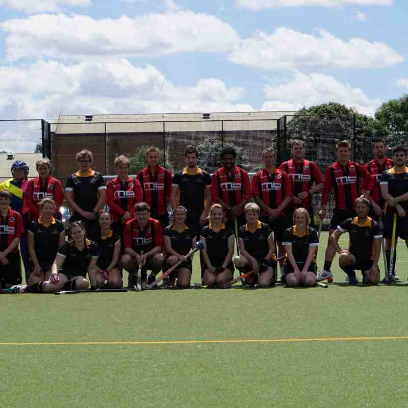 King George V Sports Association Open Day June '17 Hockey Vs Football