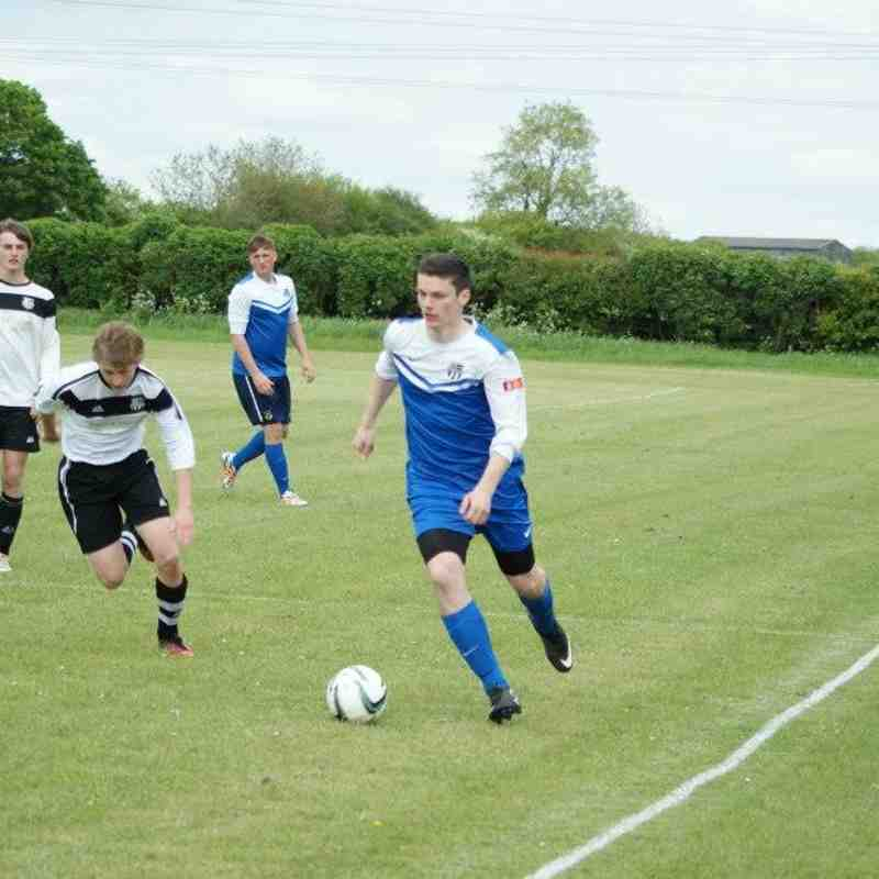 HALSE UNITED YFC - UNDER 18 v Halse United Youth FC - 17th May 2015