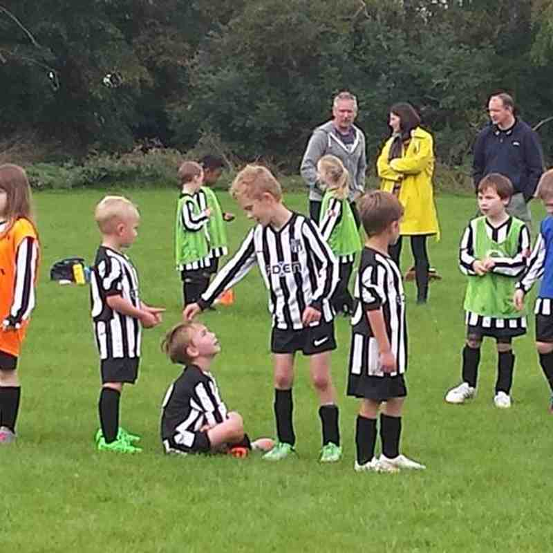 U8 against Charlton