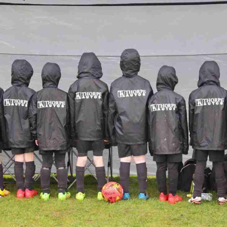 OUR UNDER 8'S SHOW OFF THEIR NEW JACKETS!